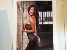 Buy KIM KARDASHIAN SEXY AUTOGRAPHED PHOTO WITH COA!!