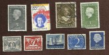 Buy Netherlands Collection of 9 USED Stamps