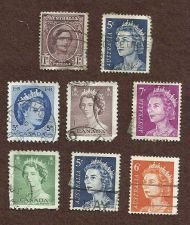 Buy AUSTRALIA STAMP SET 1 lot of 8 USED STAMPs