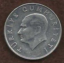 Buy Turkey 10 Lira 1986 Coin Aluminum Coin