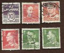 Buy Denmark Lot of 6 USED Stamps