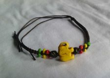Buy Thai Elephent braided rope bracelet wax handcraft unisex yellow