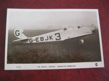 Buy BRISTOL BROWNIE TWO SEATER MONOPLANE REAL PHOTO 1930S