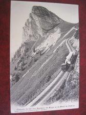 Buy ROCHERS DE NAYE MOUNTAIN TRAIN OLD POSTCARD (#79)