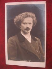 Buy PADEREWSKI GENIUS COMPOSER REAL PHOTO OLD POSTCARD (#153)