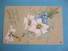 Buy GORGEOUS LILLIES FOR CHRISTMAS OLD POSTCARD (#281)
