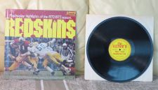 Buy LP Record Football Redskins Play by Play Highlights 1972-1973 season VG+
