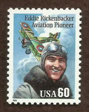 Buy Sc # 2998 1995 MNH ~ 60 cent Eddie Rickenbacker - Aviation Pioneer
