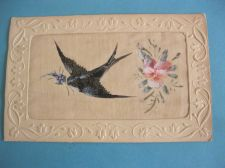 Buy WW1 ERA SILK SWIFT OLD POSTCARD #273