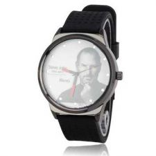Buy Cool The Legend Steve Jobs Soft Silicone Watchband Quartz Watch #372 Free sh