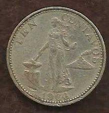 Buy World Coins - Philippines 10 Centavos 1966 Coin