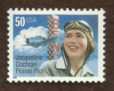 Buy Sc # 3066 1996 MNH ~ 50 cent Jacqueline Cochran - Pioneer Pilot