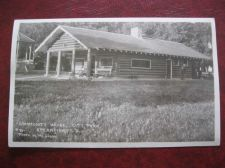 Buy SPEARFISH COMMUNITY HOUSE CITY PARK REAL PHOTO OLD POSTCARD #743