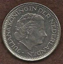 Buy Netherlands 1 Gulden 1976 Queen Juliana Pre-Euro Coin