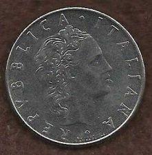 Buy Italy 50 Lire 1977 - Beautiful piece!