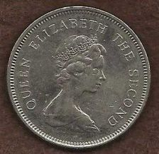 Buy Hong Kong 1 Dollar 1980 Copper-Nickel Coin - Queen Elizabeth II