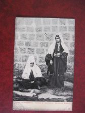 Buy PALESTINE BETHLEHEM WOMEN IN NATIONAL DRESS OLD POSTCARD(#765)