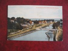 Buy [ORT DALHOUSIE ON THE CANAL CIRCA 1920 OLD POSTCARD (#768)
