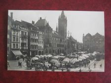 Buy BASEL MARKETPLACE AND TOWN HALL REAL PHOTO OLD POSTCARD (#774)