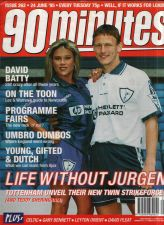 Buy 90 MINUTES UK FOOTBALL MAGAZINE SAMANTHA FOX NICK BARMBY COVER 6/24/95