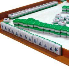 Buy Mini 144 Mahjong Tile Set Travel Board Game Chinese Traditional Mahjong Games