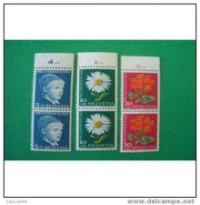Buy SWITZERLAND B329-31 mnh Boy and flowers
