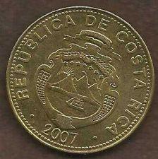 Buy Costa Rica 50 Colones 2007