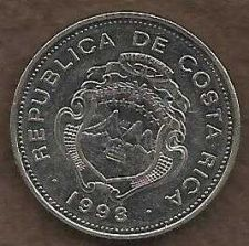 Buy Costa Rica 1 Colon 1993 Coin