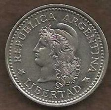 Buy Argentina 20 Centavo 1959 Capped Liberty Head Coin