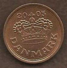 Buy Denmark 25 Ore 2005 Coin