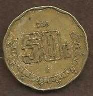 Buy Mexico 50 Centavos 1993 Coin