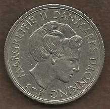 Buy Denmark 1 Krone 1976 Margrethe II