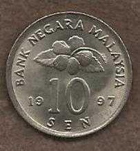 Buy Malaysia 10 Sen 1997 Coin - Ceremonial Table