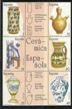 Buy Spain 1987 block mnh CERAMICA ESPANOLA