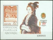Buy Spain 1990 mnh Exfilna '90 National Stamp Exhibition