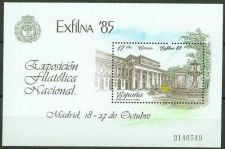 Buy Spain 1985 mnh Exfilna '85 National Stamp Exhibition