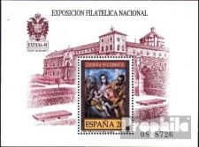 Buy Spain 1989 mnh Exfilna ´89 National Stamp Exhibition