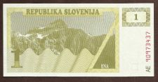 Buy Slovenia 1 Tolar 1990 Banknote AE90973437 UNC Historic Eastern Bloc Note!