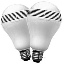 Buy MiPow 2 x PLAYBULB Bluetooth SMART LED Wireless Speaker Light Bulb for use with iPhon