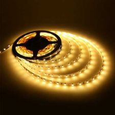 Buy LED Strip Ribbon Flexible SMD 3528 60LEDS M Waterproof Two Rolls 10M. Warmwhite with