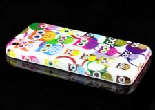 Buy Assorted Owl Pattern Snap-On PC Hard Case Cover For iPhone 5C - White