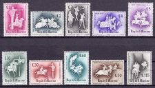 Buy SAN MARINO mnh stamps MEDIEVAL KNIGHTLY GAMES