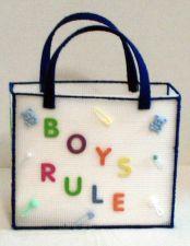 Buy Boys rule diaper bag