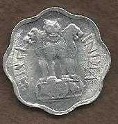 Buy India 2 Paise 1975 Coin Asoka Lion Pedestal