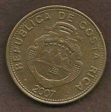 Buy Costa Rica 100 Colones 2007 Coin