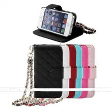 Buy Flip Wallet Card Purse Case Cover For iPhone 5, 5S