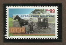 Buy US 32c Rural Free Delivery 1996 Scott# 3090 MNH in Quality Mount