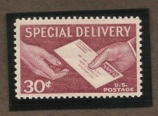 Buy US 30c Special Delivery 1957 Scott# E21 Hands and Letter MNH
