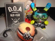 "Buy Kidrobot Dunny 3"" 2014 Art of War I Love Dust 1/40 Ilovedust UK Vinyl Art Figure"