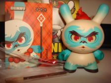 "Buy Kidrobot Dunny 3"" 2013 Side Show Scott Tolleson Yeti Argyle Warrior Vinyl Art"